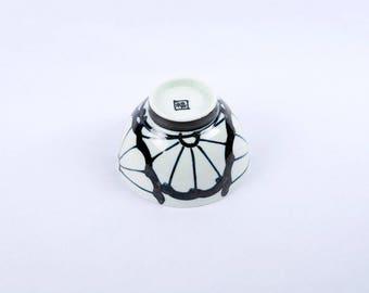 Japanese pottery- Hasami ware- rice bowl