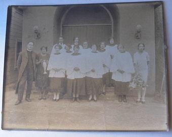 Black and White Photo, Choir Photo, Black Choir Photo, 8x10