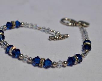 Swarovski Crystal Beaded Bracelet