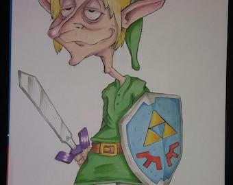 Legend of Zelda dooodle