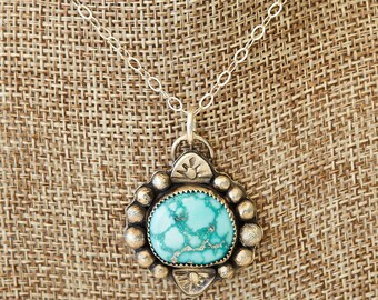 Whitewater Turquoise pendant