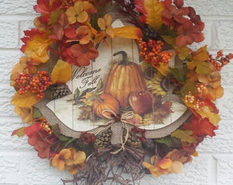 Wreath for Fall