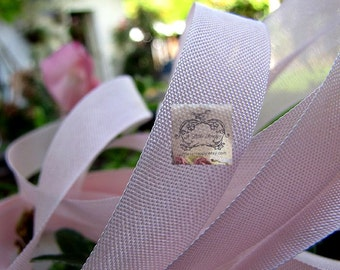 Rayon Seam Binding Ribbon Lotus Pink