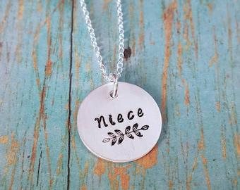 Niece Necklace - Niece - Gift for Niece - Niece Gift - Niece Jewelry - Jewelry for Niece - Favorite Niece - Special Niece - Awesome Niece