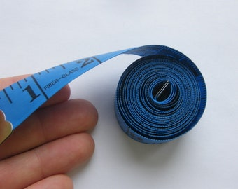 1 Tape measure inches and cm blue