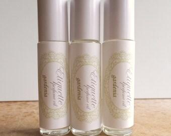 Gardenia Perfume Oil 10ml Roll-On Fragrance