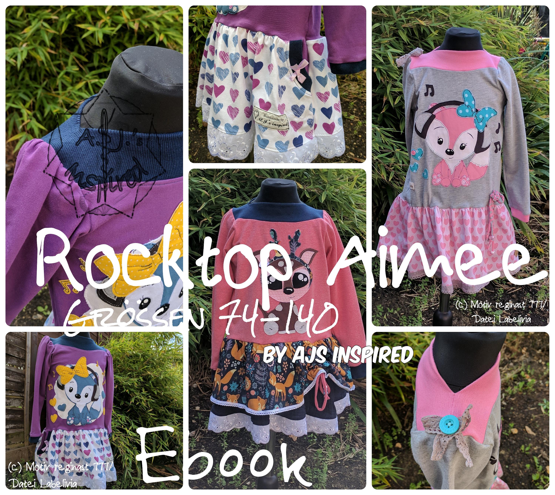 RockTop Aimee Ebook - Schnittmuster und Anleitung Gr 74 -140 von ...