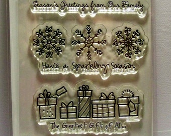 Sparkling Season Clear Stamps by The Greeting Farm...