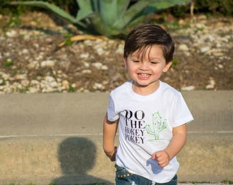 Hokey Pokey Shirt, Cactus, Cactus Shirt, Funny Kid Shirt, Trendy Kids Clothes, Cool Baby Tee, Baby Cactus Tee, Kids Cactus Tee, Cactus Lover