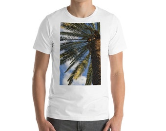 Palm tree and clouds T-Shirt