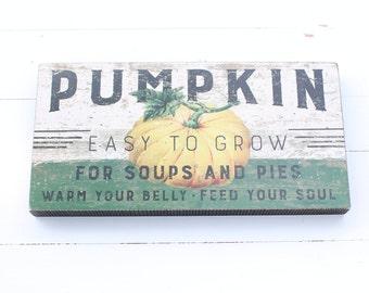 Pumpkin Wood Farm Sign