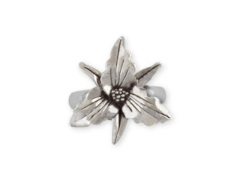 Sterling Silver Trillium Ring Jewelry  TLM1-R
