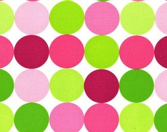 Michael Miller Disco Dot - Sorbet  - you pick the cut