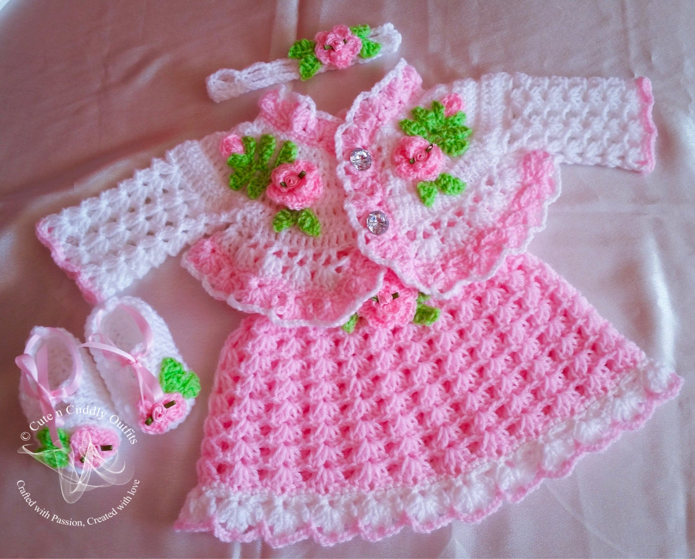 Crochet baby patterns crochet baby dress pattern crochet zoom bankloansurffo Choice Image