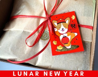 Lunar New Year Beef Jerky Gift Box
