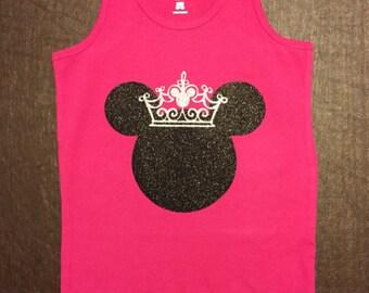 Children's Mickey Crown Shirt!