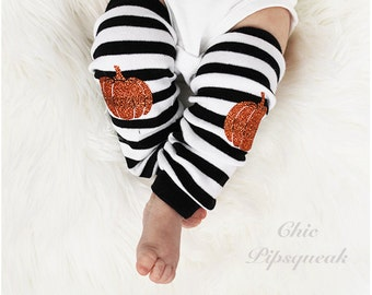 Halloween Leg Warmers, Baby Halloween Leggings, Newborn Baby Halloween, Halloween Outfit, Baby Halloween Outfit, Pumpkin Baby, Halloween,