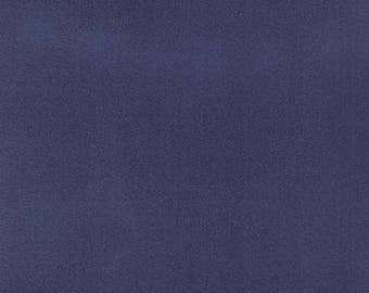 """1 YARD 29 Inches Left! Fireside Soft Textures by Moda Classic Nautical Blue 60001-34 100% Polyester 60"""" Wide"""