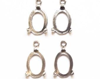 4 medallions medium oval cabochon 16 mm cabochon