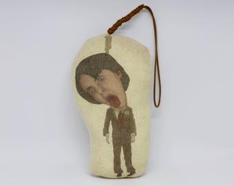 Harold and Maude Inspired Plush Doll/Bud Cort/Stuffed Soft Toy/Plushie Ornament/Ruth Gordon/Hal Ashby/Cat Stevens/Yusaf Islam/Movie/Gift