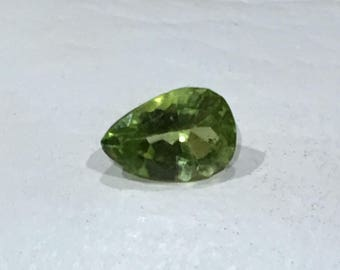 Lovely Pear Shaped Peridot