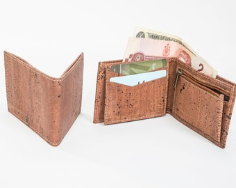 Cork Men Wallets