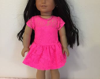Made to fit American Girl doll clothing 18""