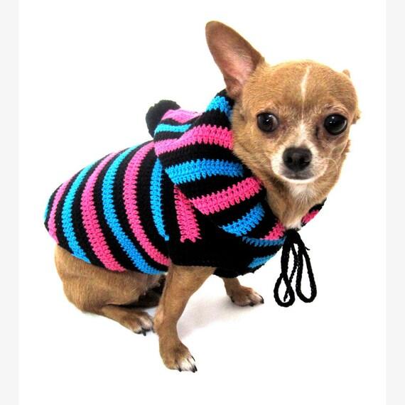 haekeln sie hund hund hoodie niedlichen hundebekleidung