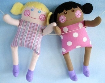 SALE - PDF ePATTERN for Precious Kilah and Keesha Dolls