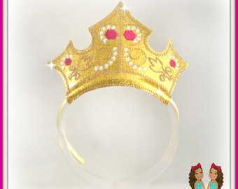 Princess Sleeping Beauty Crown Headband