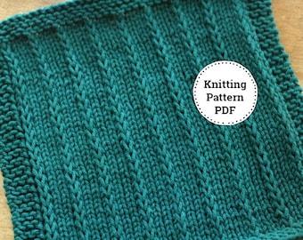 KNITTING PATTERN-Zoey, Dishcloth Pattern