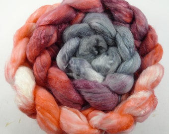 70/30 Merino Silk Roving 4oz OOK #6