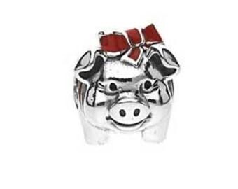 Pandora Charms Lucky Pig Charm Bead Authentic Pandora