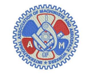 AIM embroidery design