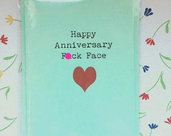 Anniversary/funny/rude/swearing/card