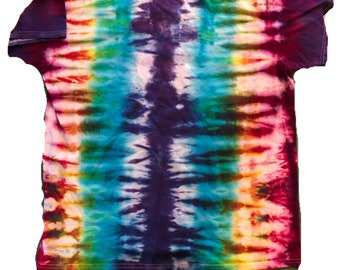 Rainbow Tie Dye T Shirt XL
