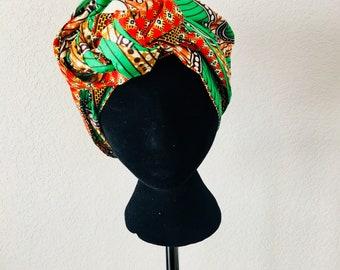 Head Wrap - African - Reversible - Kop Wrap - Wilskrag (Willpower)
