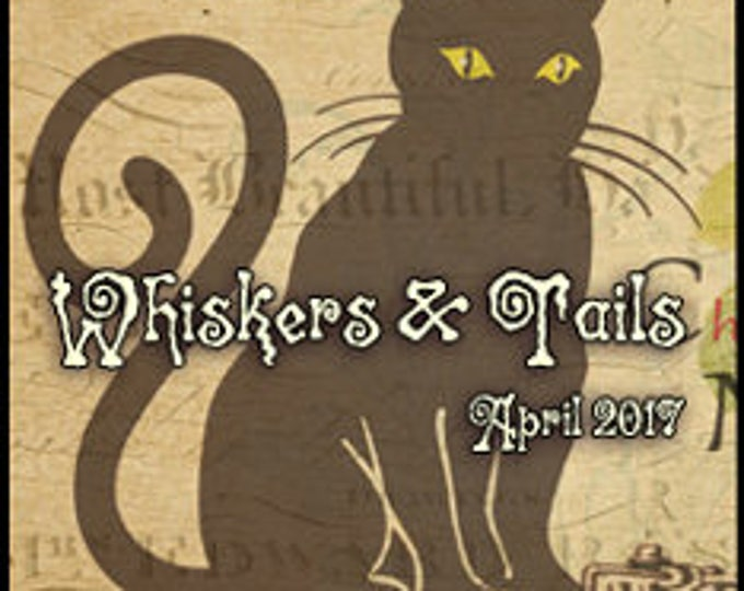 Whiskers & Tails - April 2017 - Handcrafted Perfume - Love Potion Magickal Perfumerie