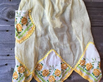 Beautiful Yellow Apron
