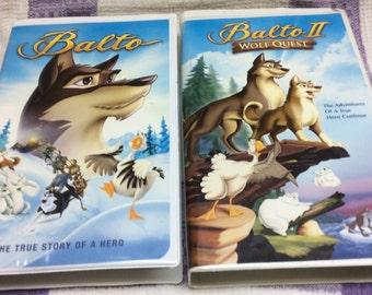 Two Movie Set: BALTO/ BALTO 2 - Movie Favourite on VHS