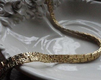 Chunky Goldtone Necklace