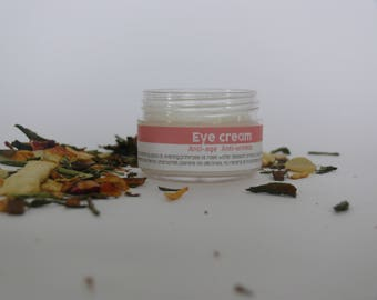 Eye Cream Anti-aging, Anti - wrinkle, Against Dark Circles, Puffiness, Antioxidant, Firming, Moisturizer by MyrtilloCosmetics