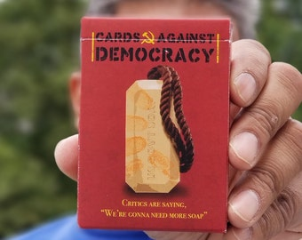 Cards Against Democracy Poker Playing Cards
