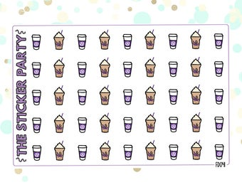 Coffee Bean Planner Stickers