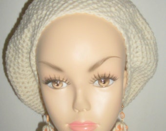CROCHET TAM SLOUCHIE    Women and Teens  slouchy, beret