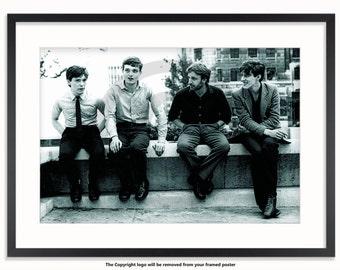 Joy Division Manchester Studios Poster