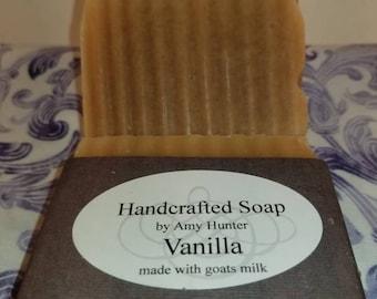 Vanilla goats milk soap