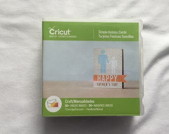 Cricut Cartridge - Simple Holiday Cards - Gently Used