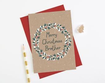 Brother Christmas Card