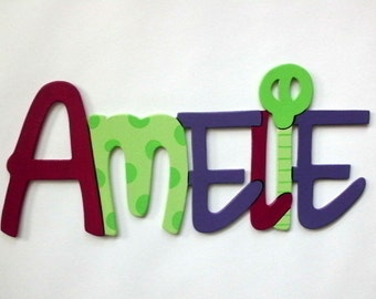 Door sign, name tag with name